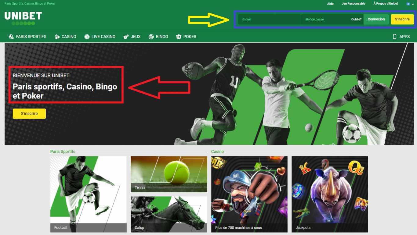 Facilité d'utilisation du site de paris sportifs et de l'application mobile en ligne